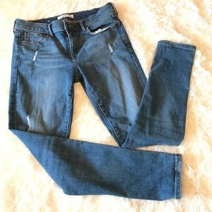 Banana Republic Jeans Skinny Ankle Distressed